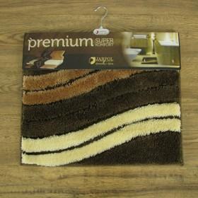 Dywanik łazienkowy - Premium - brązowy