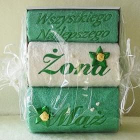 Ręczniki haftowane na prezent i pod wzór klienta