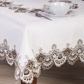 Tekstylia stołowe - Bieżniki - Gipiurowe - Złote